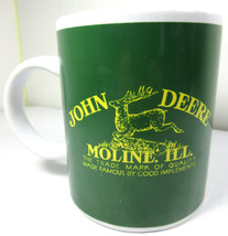 John Deere Green Moline Illinois Coffee Mug Gibson Officially Licensed 1... - $7.87