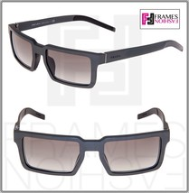 PRADA 50S TECHNIQUE Square Graphite Brushed Aluminum Gradient Sunglasses... - $261.95