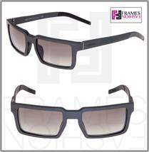 Prada 50S Technique Square Graphite Brushed Aluminum Gradient Sunglasses PR50SS - $261.95