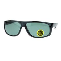 Glass Lens Mens Fashion Sunglasses Rectangular Frame UV Protection - $9.95
