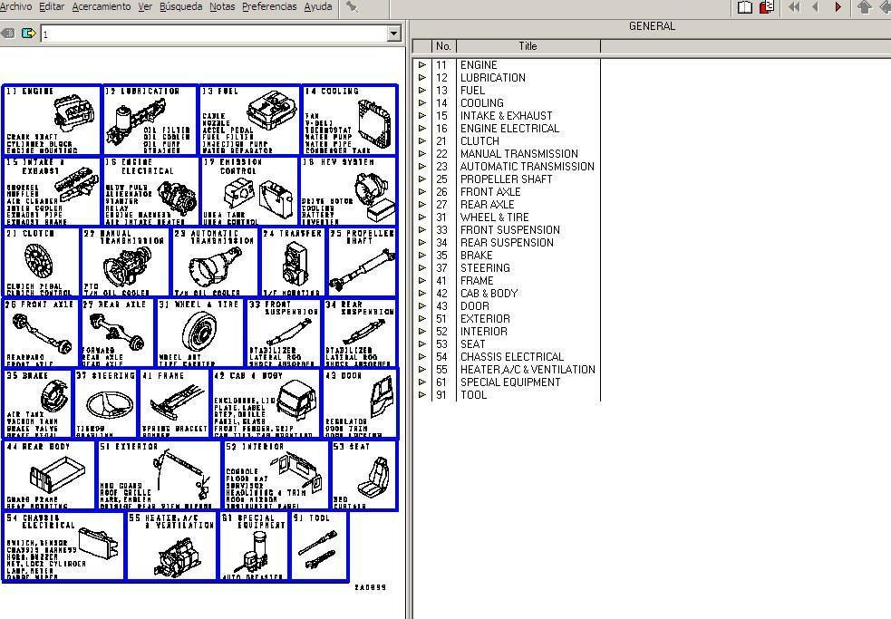 mitsubishi fuso trucks parts manual software and 50 similar items rh bonanza com Mitsubishi Canter Parts Catalog Mitsubishi Canter Truck