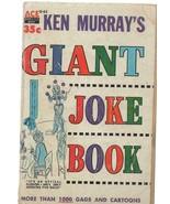 ORIGINAL Vintage 1954 Ken Murray Giant Joke Book Paperback Ace - $14.84