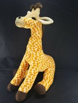"Wildlife Artists Zoo Giraffe 15"" Plush Stuffed Animal Orange Brown Reali... - $14.84"