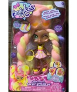 "NEW SEALED CandyLocks Lacey Lemonade 7"" Doll, Super Long Cotton Candy Hair - $24.74"