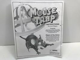 Vintage 1999 Mouse Trap Board Game Instructions Milton Bradley - $2.72
