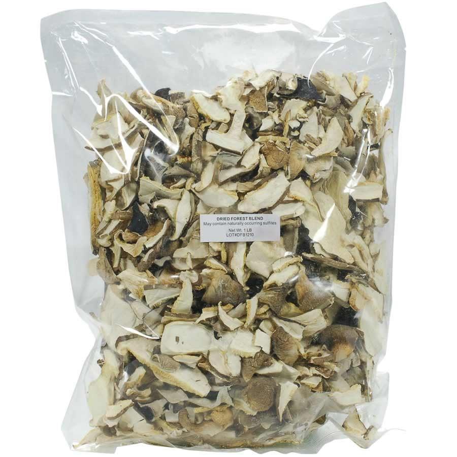 Forest Mix Wild Mushrooms  - Dried - 1 lb - $31.09