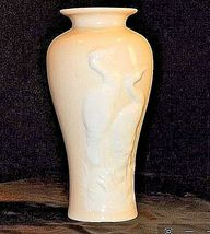 Ceramic Erots Vase with Raised Iris AA18 - 1041 Vintage image 3