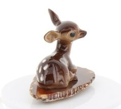 Hagen Renaker Miniature Tiny Deer Baby on Base Stepping Stones #2753 image 8