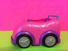 Mattel 2009 Polly Pocket Pink Convertible Car Gift - $6.80
