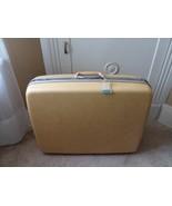"Yellow Samsonite Silhoette Hard Shell Luggage Hardcase No Key 19"" T x 25"" W - $42.07"