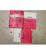 1986 1986.5 Toyota Supra Service Shop Repair Manual Set W BODY & WIRING ... - $287.09