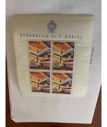 San Marino Planes s/s mnh 1965   stamps - $14.95