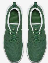 NIKE ROSHE ONE GORGE GREEN/WHITE MEN'S MESH RUNNING SHOES image 4