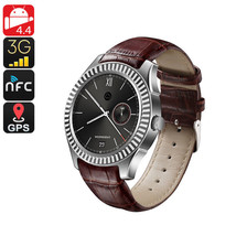 No.1 D7 Bluetooth Watch Phone - Android OS, Heart Rate Monitor, 1 IMEI, ... - $121.75