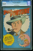 Don Fortune Magazine #1-CGC 8.0 2nd Highest- CC Beck-SOUTHERN STATES 119... - $357.69