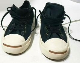 Converse Jack Purcell - Canvas Low Tops - Men's Sz 8M-w9.5 Black Sneaker... - $57.99