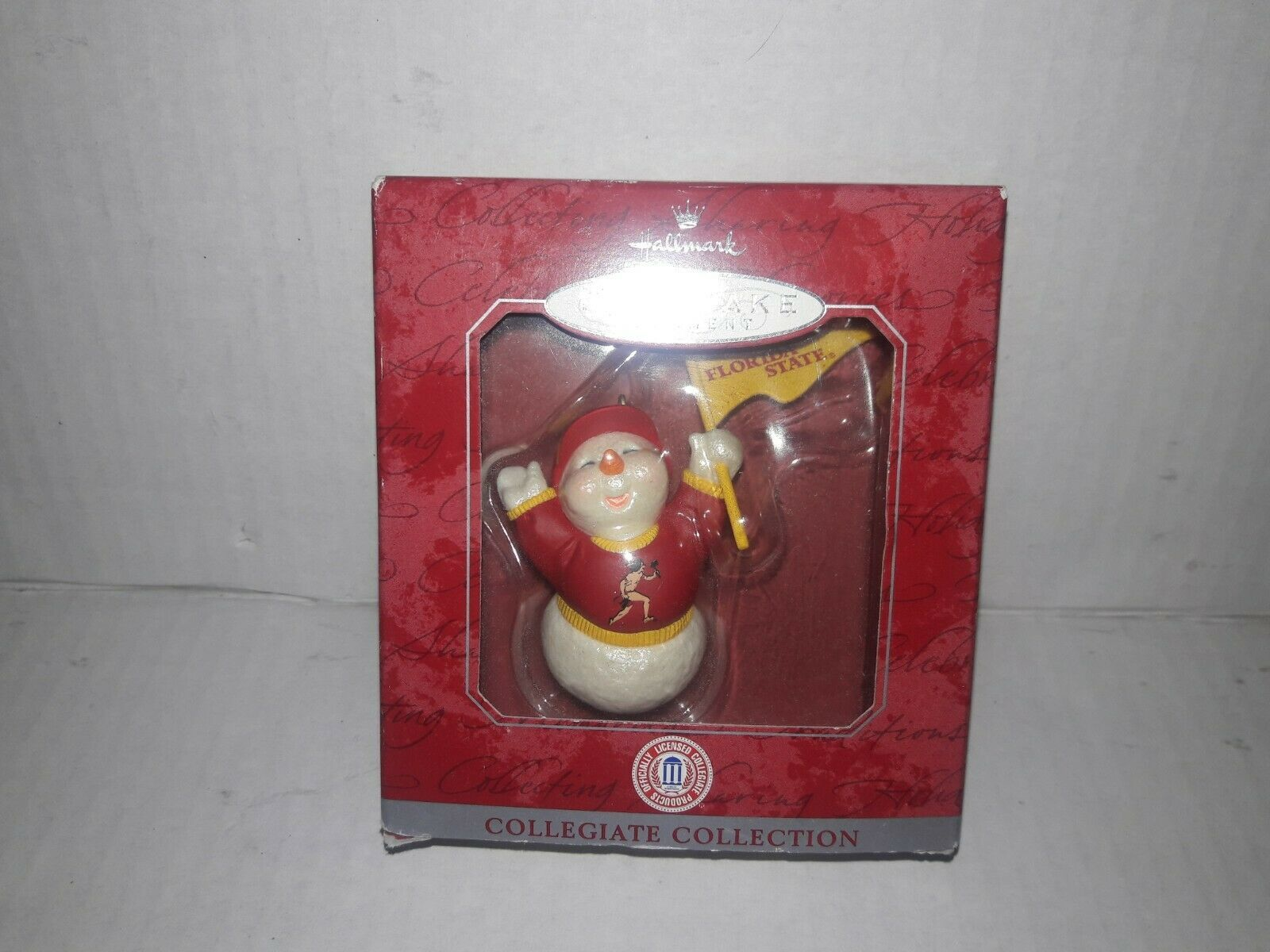 Florida State Seminoles Christmas Ornament Hallmark Keepsake Collegiate FSU NEW image 3