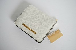 NWT MICHAEL KORS JET SET TRAVEL CARRYALL CARD CASE LEATHER WALLET BRIGHT... - £30.13 GBP
