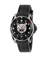 Gucci YA136320 Unisex Black Feline Dial & Rubber Strap Watch - $1,015.89