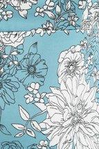 Plus Size Blue Dress, Blue Floral Dress, Plus Size Dress, Blue Print Dress image 5
