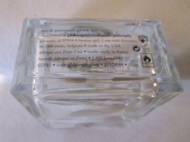 Vintage Philosophy INNER GRACE EDP 4 oz  Pre Coty, Disc, Used ~75% Full image 3