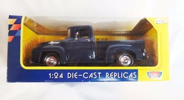 1956 Ford Pickup - Blue - 1:24 - Motor Max DieCast Car - New - $15.53