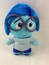 "2015 Funko Disney Pixar Inside Out Sadness Plush Doll Blue Stuffed Toy 7"" - $12.82"
