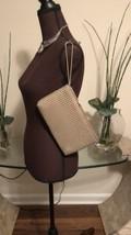 Vintage Metal Aluminum Mesh Whiting & Davis Taupe Handbag Clutch - $36.47