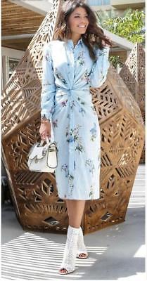 2139d50f9271 Bnwt Zara Sky Blue Floral Print Tunic Dress and 50 similar items