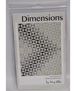 Amy Ellis Dimensions Quilt Pattern AE101 - $12.24