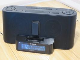 Sony Dream Machine AM/FM Clock Alarm Radio iPod... - $27.76