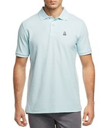 NEW MENS PSYCHO BUNNY CERULEAN CLASSIC PIMA COTTON PIQUE POLO SHIRT SIZE... - $49.49