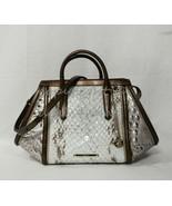 NWT Brahmin Arden Leather Satchel/Shoulder Bag in Sky Carlisle. - $359.00