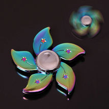 Rainbow Bauhinia Flower Fidget Toy - One Item w/Random Color and Design image 3