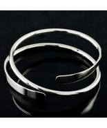 Sterling Silver .925 Wrap Spiral Bracelet Beautiful Gift for Her! - $272.24
