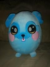 "Squeezamals Blue Dog Plush 9"" Stress Ball Toy Stuffed Animal 2018 Beverl... - $18.80"