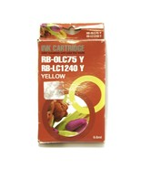 0LC75 Y BLC1240Y Yellow Ink Cartridge Brother MFCJ6510DW,J6710,J6910 Compatible - £4.17 GBP