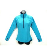 Patagonia Women's Athletic Top Blue/Purple L/S Finger Hole Stretchy 1/2 ... - $49.32
