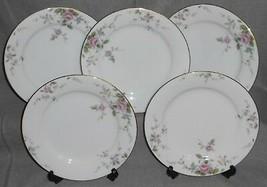 Set (5) Noritake China Firenze Pattern Salad Plates Made In Japan - $29.69