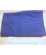 1 X Ocean Water Blue  Fabric  100% cotton 59 Inches X 54 Inches - $9.65