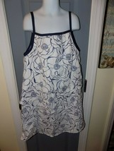 Maggie Breen Too Green Floral Print Lined Sleeveless Dress Size 16 Girl'... - $35.10