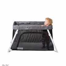 Baby Portable Playard Playpen Crib Mesh Side Breathable Safety Travel Ba... - $272.74