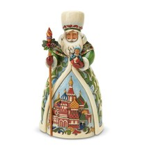 """Russian Santa from Jim Shore Around the World Collection 7"""" High Christmas"""