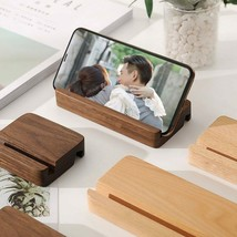 Universal Wooden Phone Holder for Samsung  iPhone 11 Pro Max X XS Mobile... - £3.90 GBP+