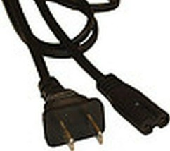 Ac Power Cable / Cord For Canon CB-2LAE CB-2LYE CB-2LBE CB-2LXE CB-2LVE Charger - $7.19