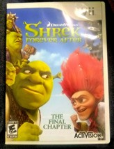 Shrek Forever After: The Final Chapter Nintendo Wii 2010 Family Video Game - $4.98