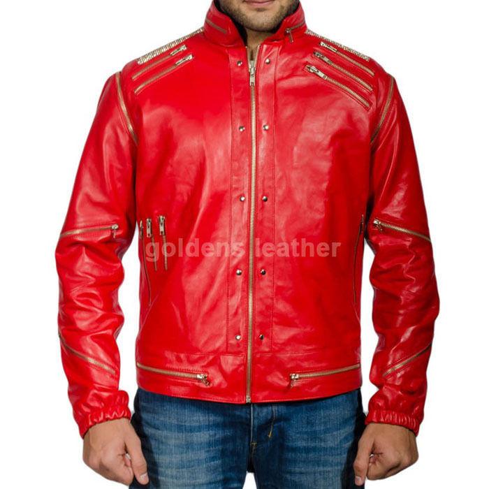 New Men's Stylish Lambskin Genuine Leather Motorcycle Biker Slim Fit Jacket GN30