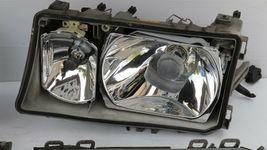 Mercedes W201 190E 190D 2.3-16 Cosworth 16v Euro Headlight Set L&R image 9
