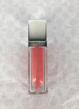 NEW Maybelline Color Elixir Lip Gloss in Pearlescent Peach #520 ColorSen... - $2.99