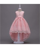 Flower Girl Dress Wedding Bridesmaid Birthday Pageant Formal Prom Lace G... - $35.95